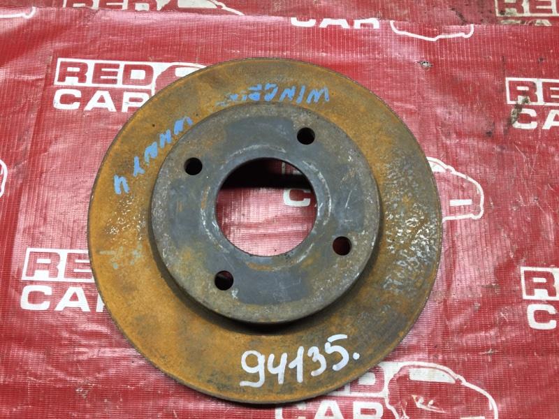 Тормозной диск Nissan Ad WHNY11 передний (б/у)