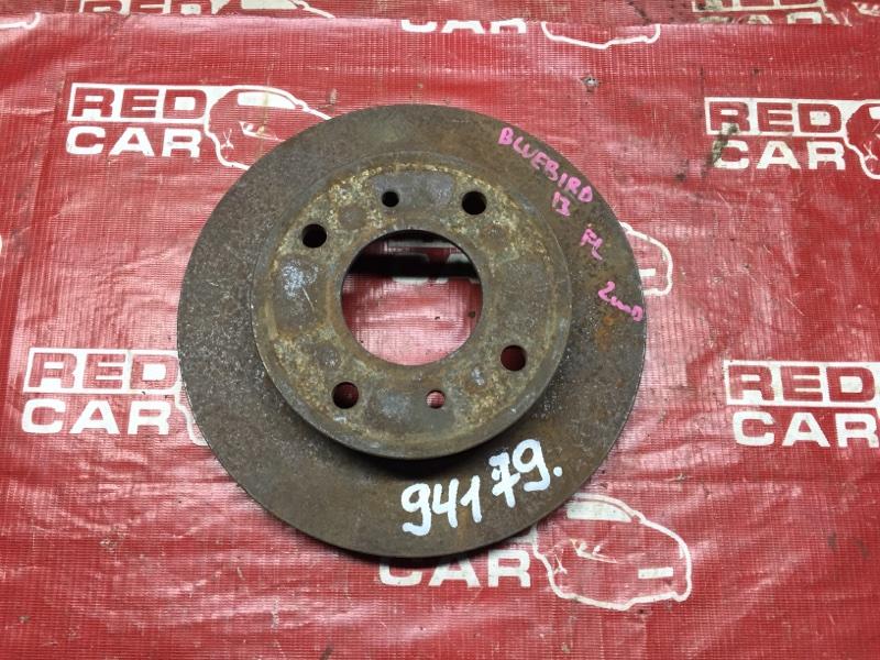 Тормозной диск Nissan Bluebird EU13 передний (б/у)