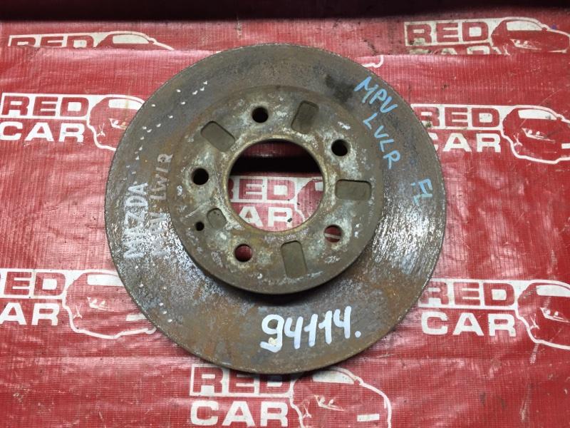 Тормозной диск Mazda Mpv LVLR передний (б/у)