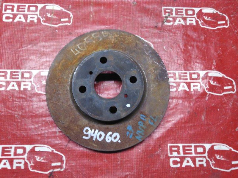 Тормозной диск Toyota Porte NNP11 передний (б/у)