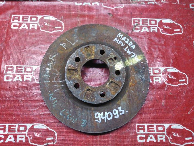 Тормозной диск Mazda Mpv LW3W передний (б/у)