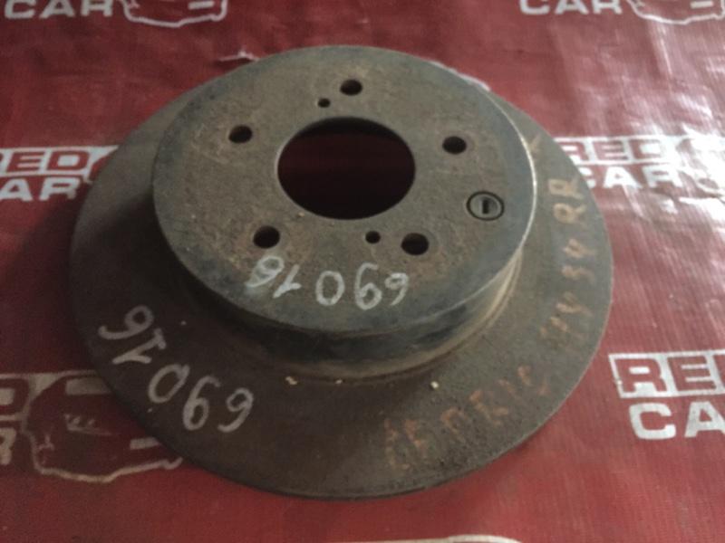Тормозной диск Nissan Cedric HY34 задний правый (б/у)