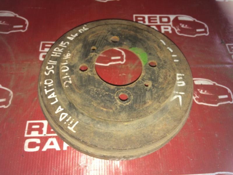 Тормозной барабан Nissan Tiida SC11 HR15 задний (б/у)