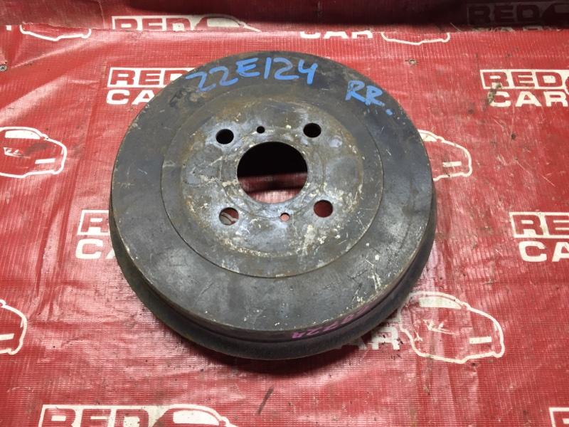 Тормозной барабан Toyota Allex ZZE124 задний правый (б/у)