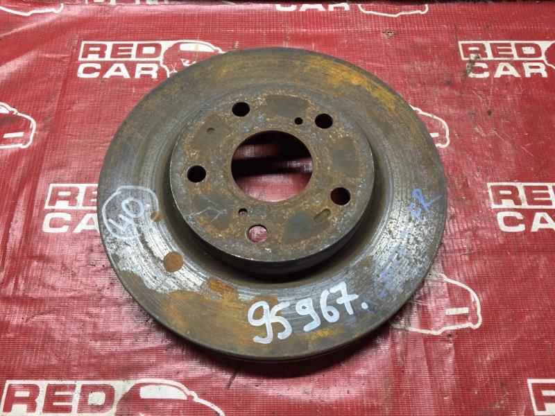 Тормозной диск Toyota Blade AZE154 передний (б/у)