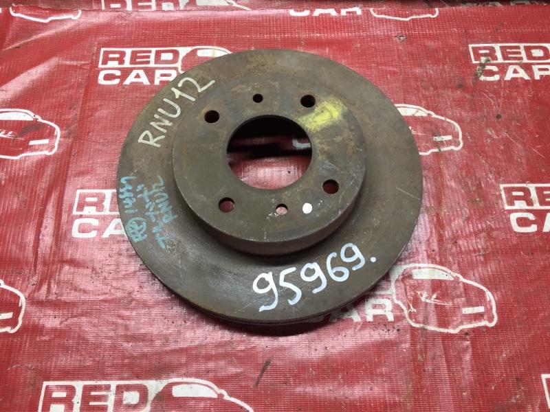 Тормозной диск Nissan Bluebird RNU12 передний (б/у)