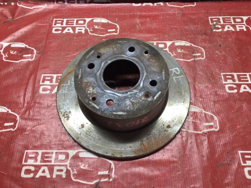 Тормозной диск Honda Saber UA1 G25A 1995 задний левый (б/у)