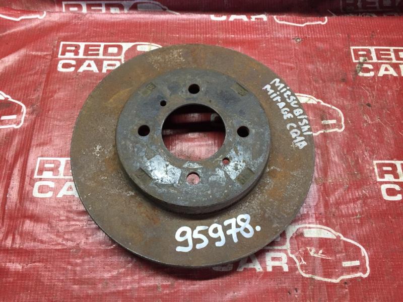 Тормозной диск Mitsubishi Dingo CQ1A передний (б/у)