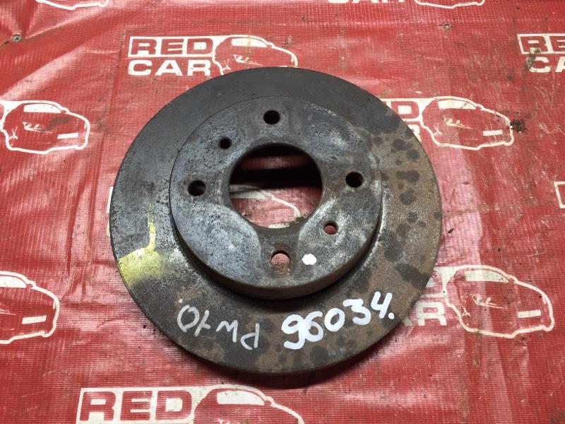Тормозной диск Nissan Avenir PW10 передний (б/у)