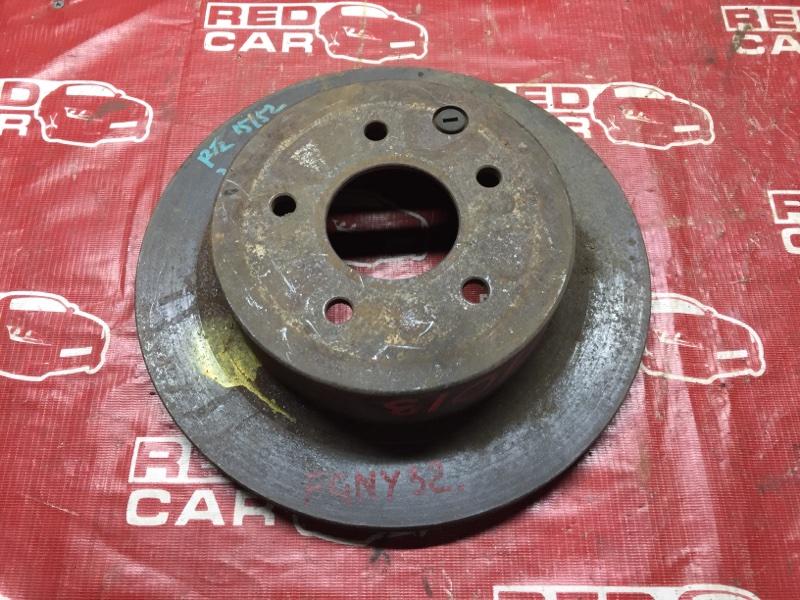 Тормозной диск Nissan Cima FGNY33 задний (б/у)
