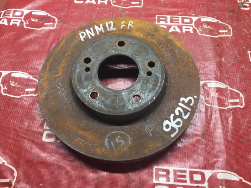 Тормозной диск Nissan Liberty RNM12 передний (б/у)