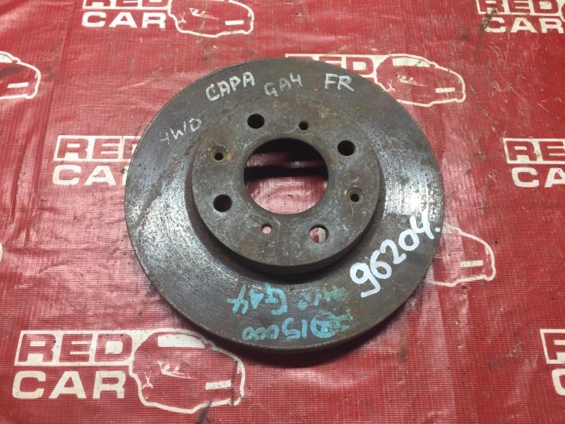 Тормозной диск Honda Capa GA4 передний (б/у)