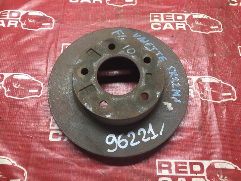 Тормозной диск Nissan Vanette SK22MN передний (б/у)