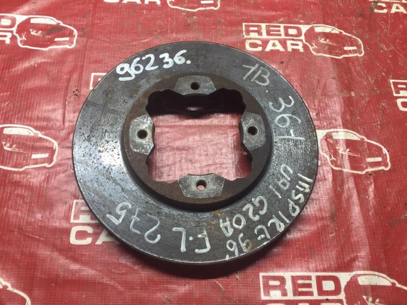 Тормозной диск Honda Inspire UA1 передний (б/у)