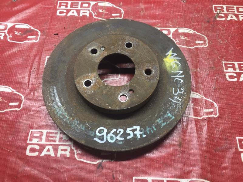 Тормозной диск Nissan Stagea WGNC34 передний (б/у)