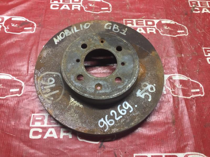 Тормозной диск Honda Mobilio GB1 передний (б/у)