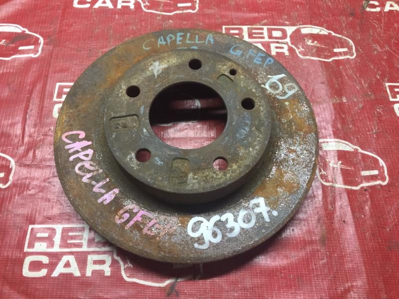 Тормозной диск Mazda Capella GFEP передний (б/у)