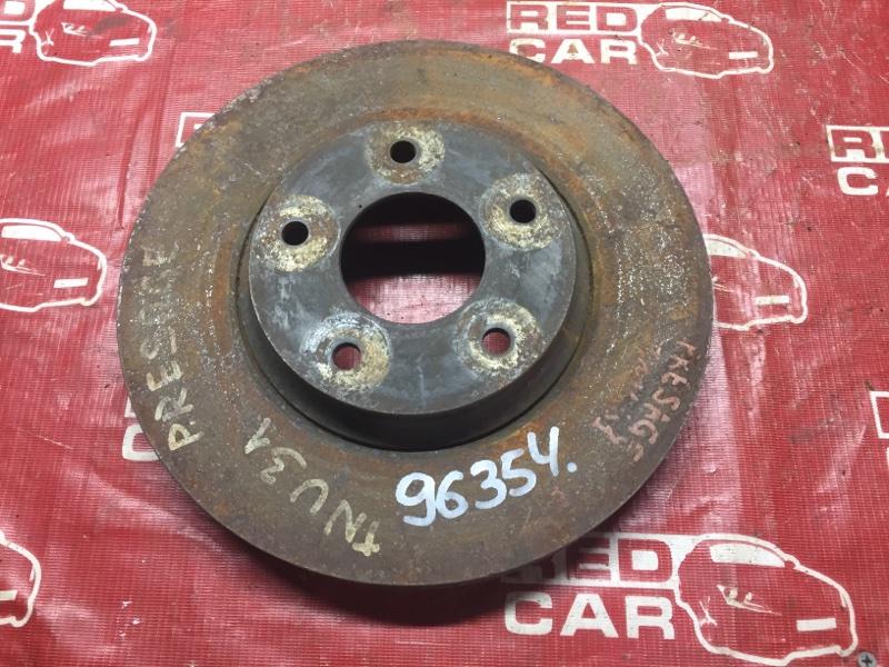Тормозной диск Nissan Presage U31 передний (б/у)