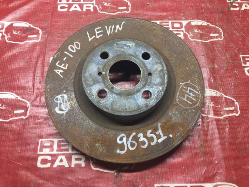 Тормозной диск Toyota Corolla Levin AE101 передний (б/у)