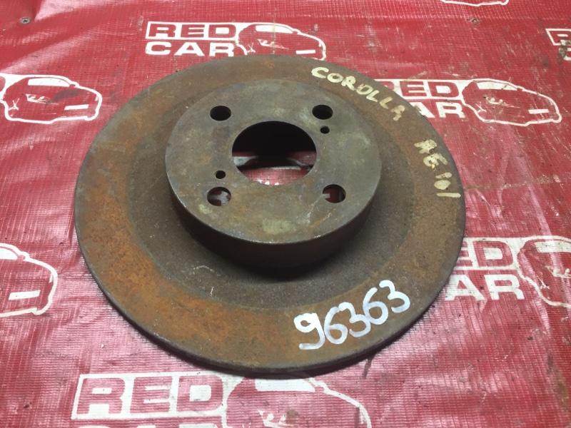 Тормозной диск Toyota Corolla Levin AE111 задний (б/у)
