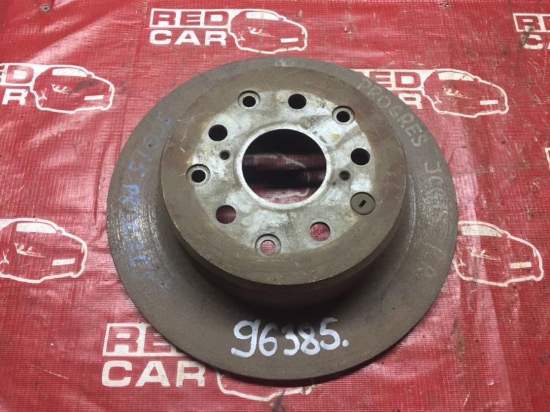 Тормозной диск Toyota Progres JCG15 задний (б/у)