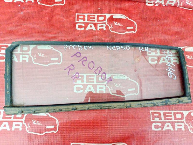 Форточка двери Toyota Probox NCP51 задняя правая (б/у)