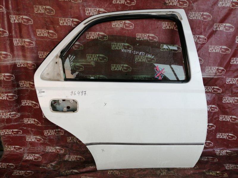 Дверь Toyota Vista SV50 задняя правая (б/у)