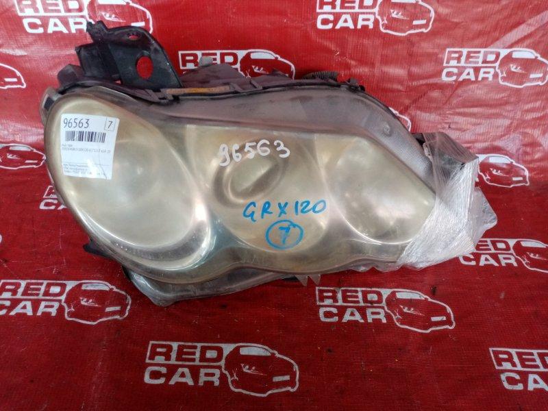 Фара Toyota Mark X GRX120-0072217 4GR 2006 правая (б/у)