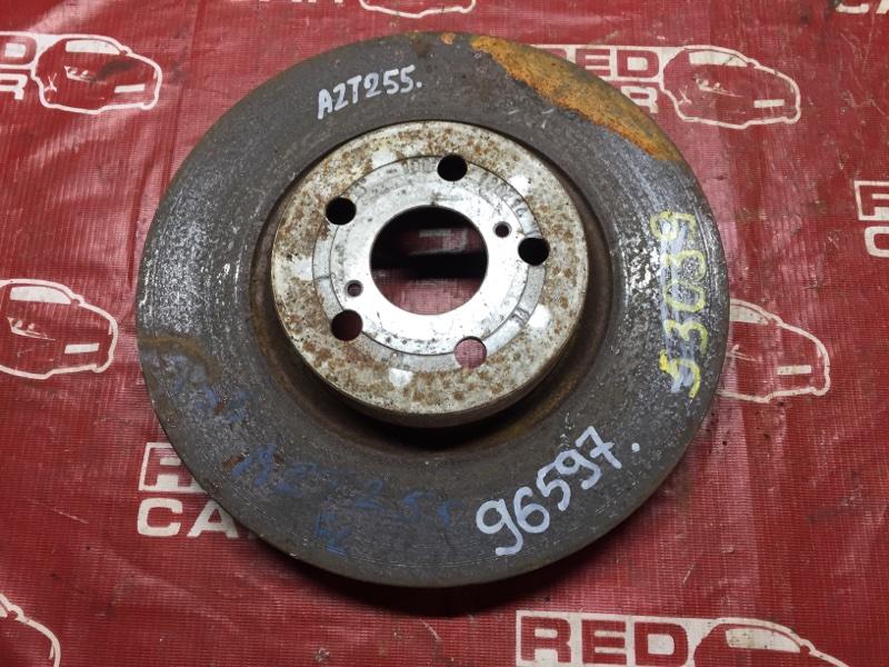 Тормозной диск Toyota Avensis AZT255 передний (б/у)