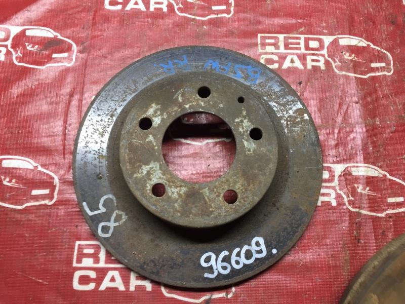 Тормозной диск Mazda Familia BJFW задний (б/у)