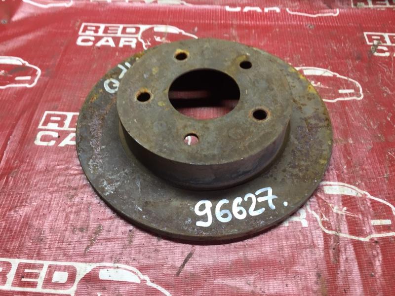 Тормозной диск Nissan Bluebird QU14 задний (б/у)