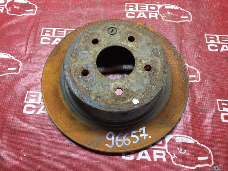 Тормозной диск Nissan Dualis KJ10 задний (б/у)