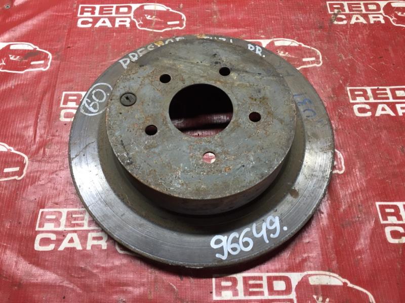 Тормозной диск Nissan Presage U31 задний (б/у)