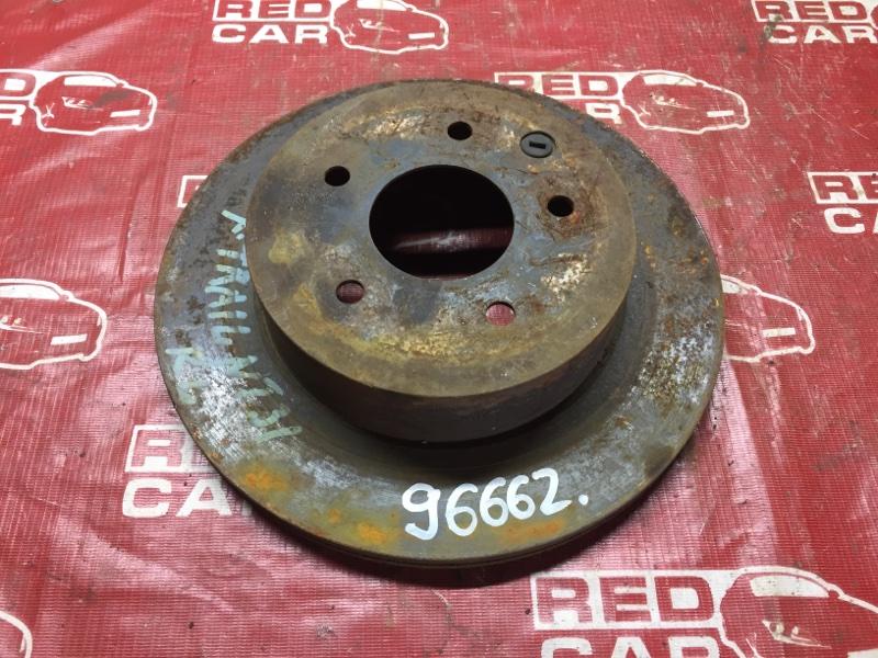 Тормозной диск Nissan X-Trail NT31 задний (б/у)