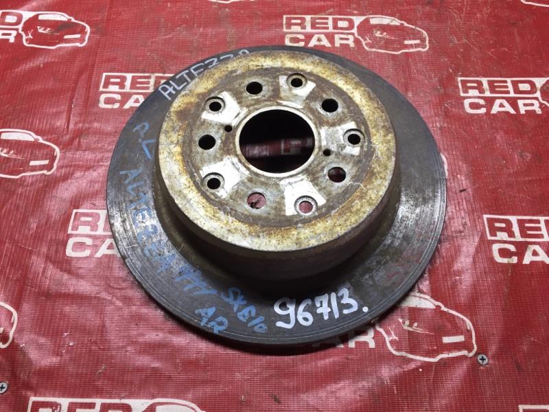 Тормозной диск Toyota Altezza SXE10 задний (б/у)
