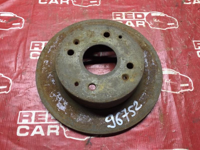 Тормозной диск Nissan Primera P11 задний (б/у)