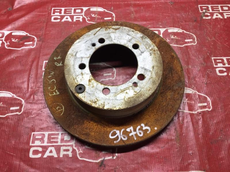 Тормозной диск Mitsubishi Legnum EC5W задний (б/у)