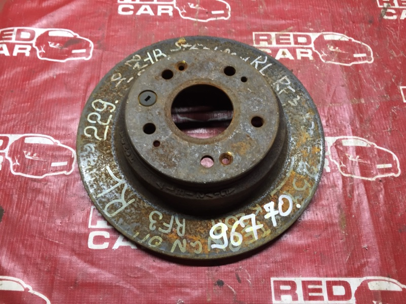 Тормозной диск Honda Stepwgn RF2 задний (б/у)