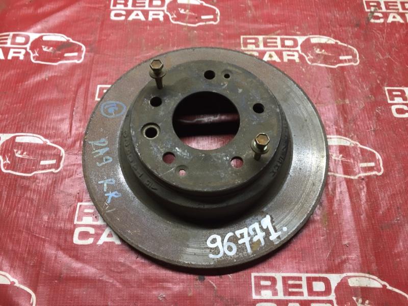 Тормозной диск Honda Odyssey RA2 задний (б/у)