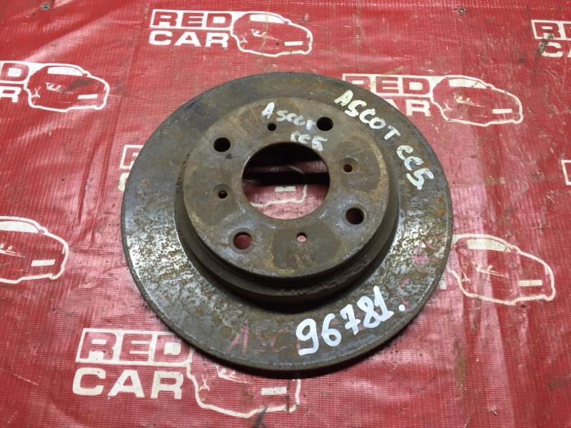 Тормозной диск Honda Ascot CC5 задний (б/у)