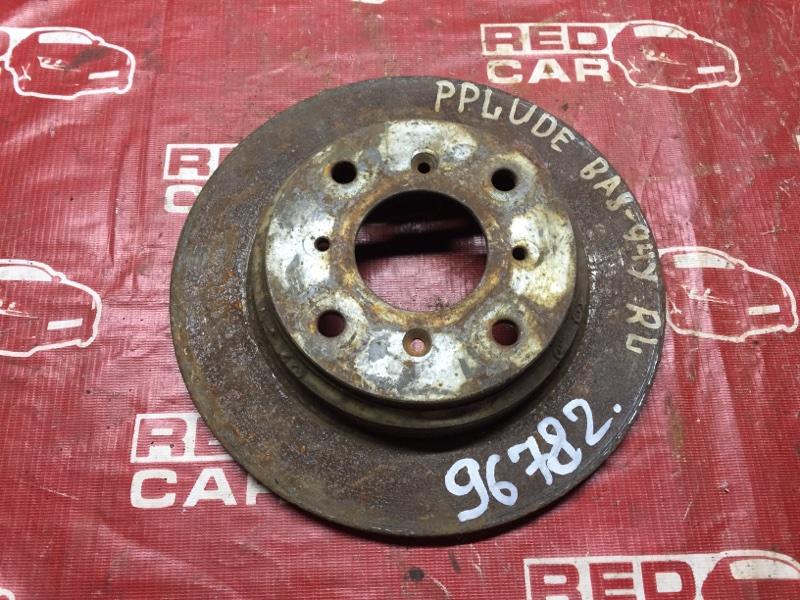 Тормозной диск Honda Prelude BA8 задний (б/у)