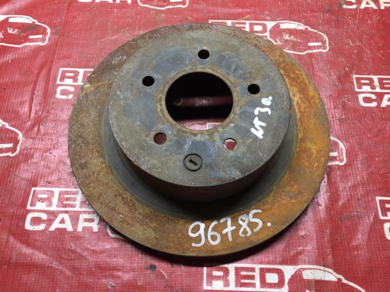 Тормозной диск Nissan X-Trail NT30 задний (б/у)