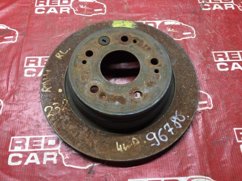 Тормозной диск Honda Stream RN4 задний (б/у)