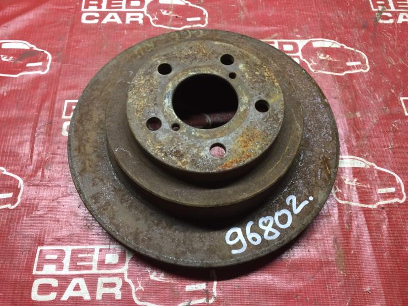 Тормозной диск Subaru Impreza GC6 задний (б/у)