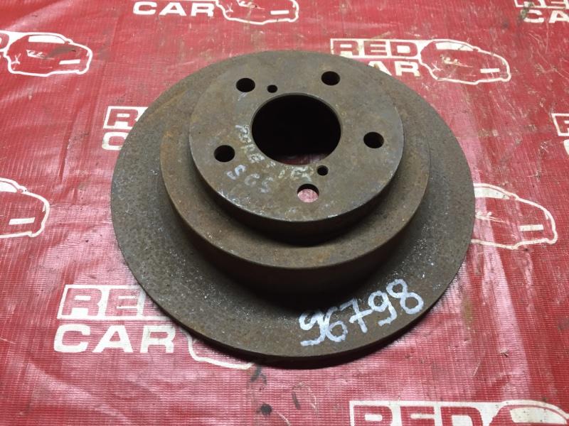 Тормозной диск Subaru Forester SF5 задний (б/у)