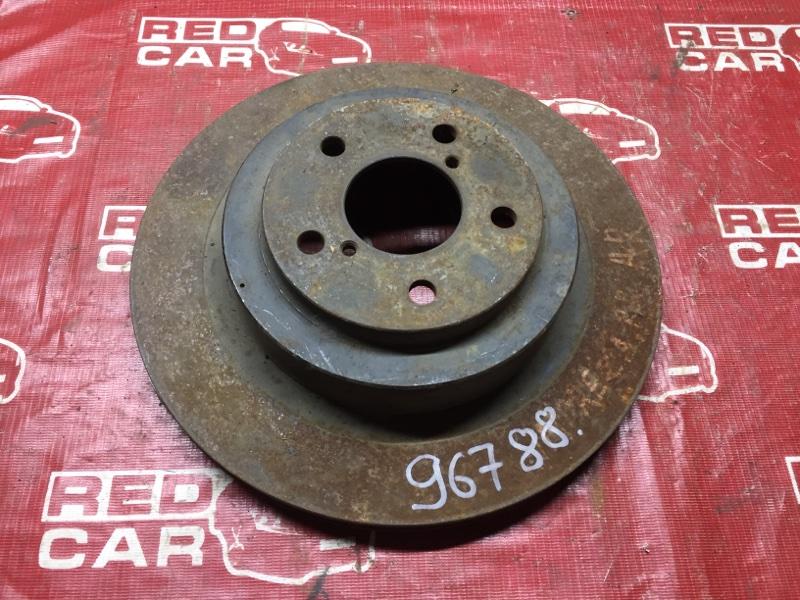 Тормозной диск Subaru Impreza GDB задний (б/у)
