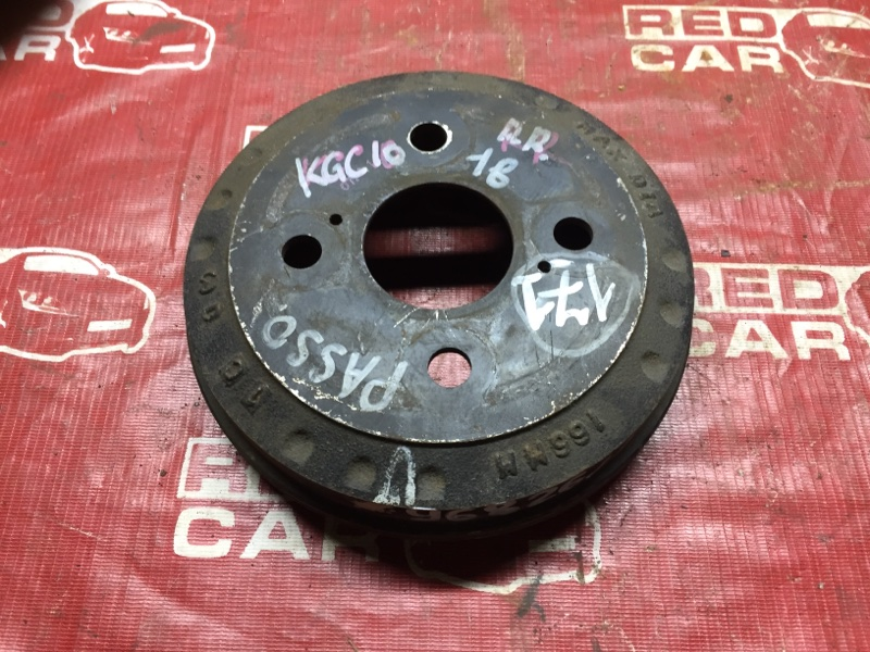 Тормозной барабан Toyota Passo KGC10 задний (б/у)
