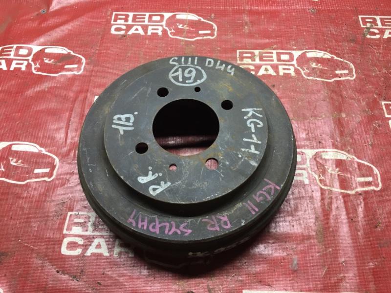 Тормозной барабан Nissan Bluebird Sylphy KG11 задний (б/у)