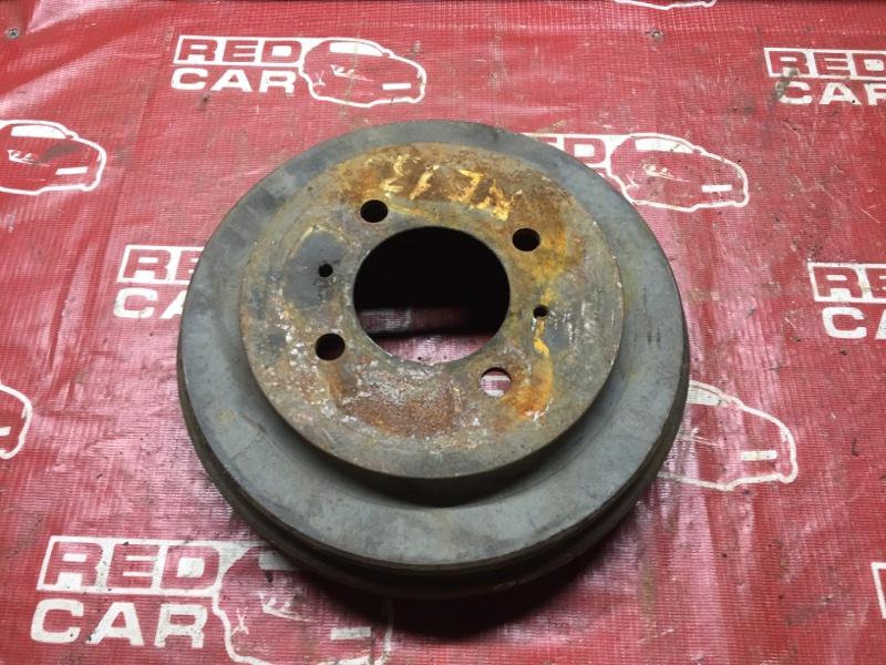Тормозной барабан Nissan Bluebird HU14 задний (б/у)