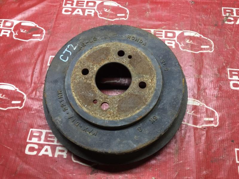 Тормозной барабан Honda Airwave GJ2 задний (б/у)